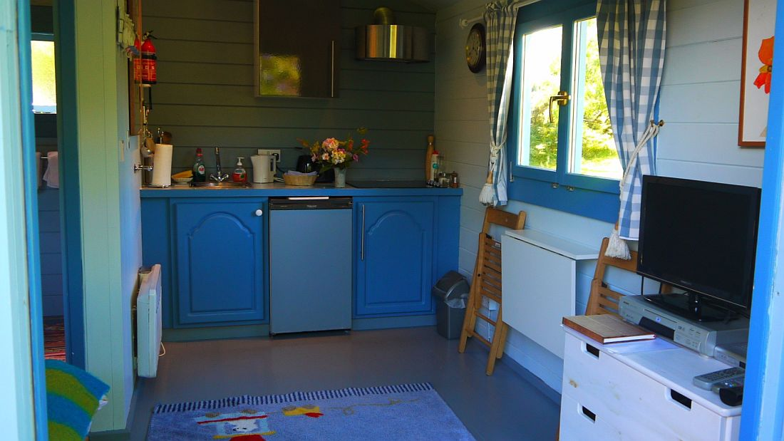 Chalet - Cabin for 2 - Ideal for Walkers or for a spot of Glamping