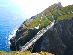 Mizen Head Bridge Ireland's most South Westerly Point